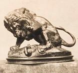 Bronze de A.-L. Barye, Lion et serpent