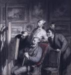 Honoré Daumier, The Amateurs Walters Art Museum Acquired by Henry Walters, 1910.