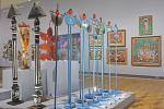 Vue de l'exposition Haïti deux siècles de création, Grand Palais, novembre 2014-février 2015