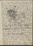Anne-Louis Girodet, feuillet de Carnet, vers 1792-1810, Paris, Bibliothèque de l'INHA, Ms 513