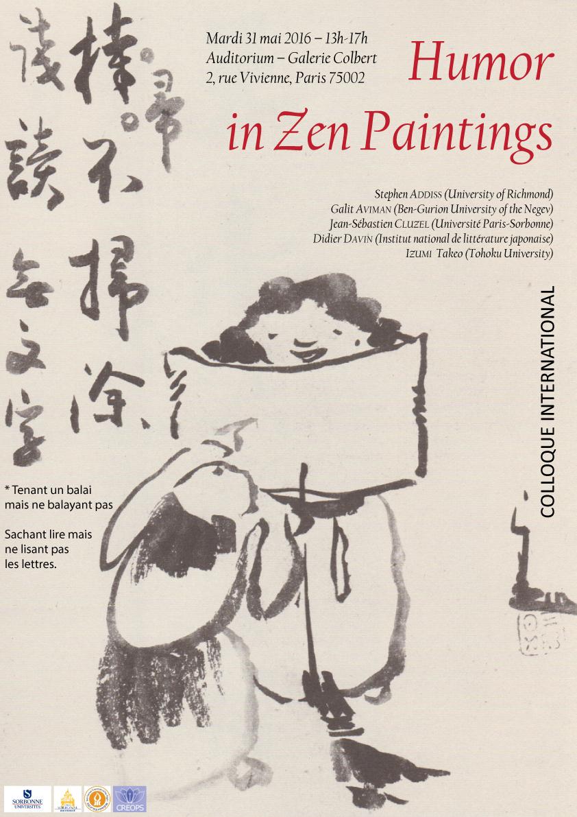 Humour dans la peinture zen - INHA
